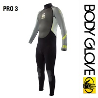 Гидрокостюм Body Glove 2015 Pro3 3/2 Fullsuit Grey/Lime