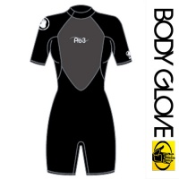 Гидрокостюм Body Glove 2015 Женский Pro3 2/1MM Springsuit Shoty Black